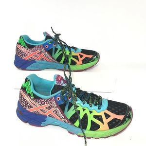 ASICS Gel Noosa Tri 9 T458N Neon Triathlon Shoes